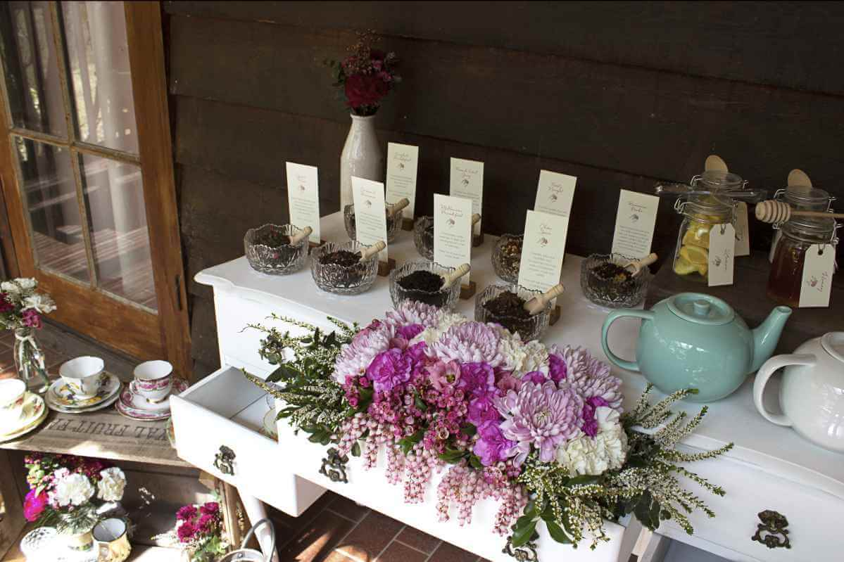 Event Styling - Tea Bars