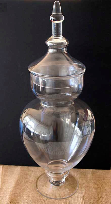 Event prop hire jumbo lolly apothecary jar