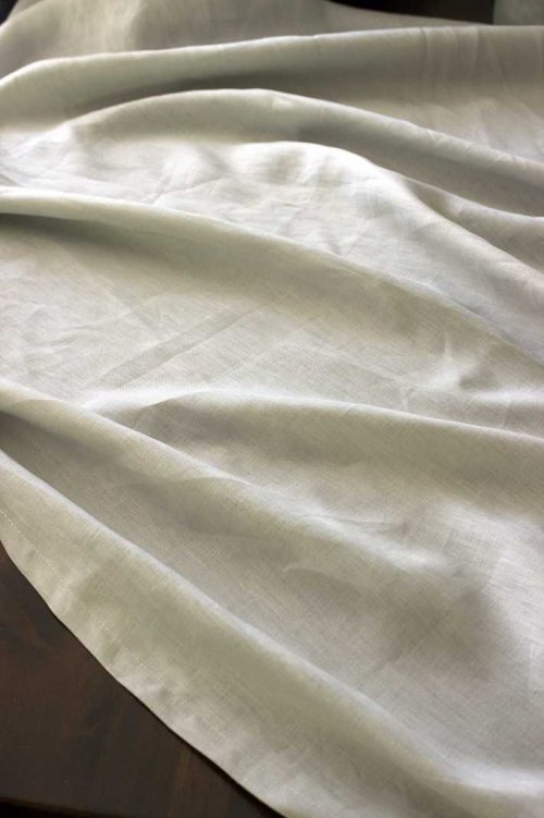 Event prop hire light grey long linen tablecloth_Event_Styling_Sydney