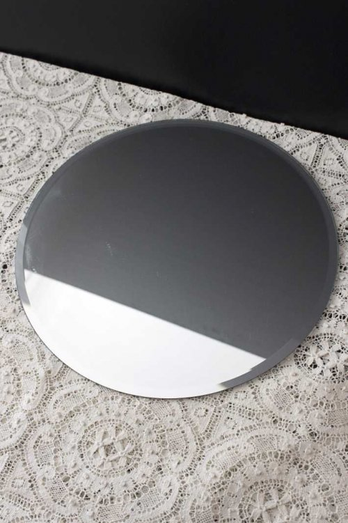 Event prop hire round mirror plate_Event_Styling_Sydney