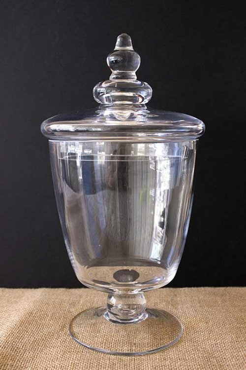 Event prop hire small lolly apothecary jar_02