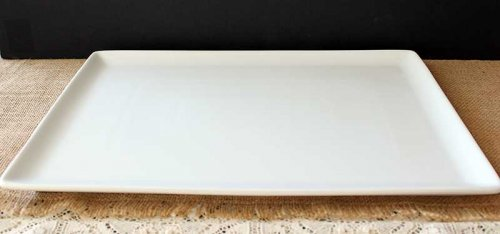 Event prop hire white platter