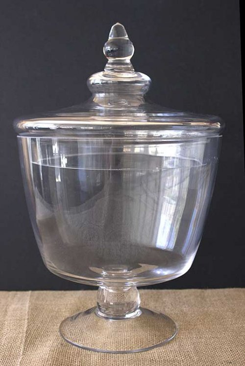 Event prop hire wide lolly apothecary jar