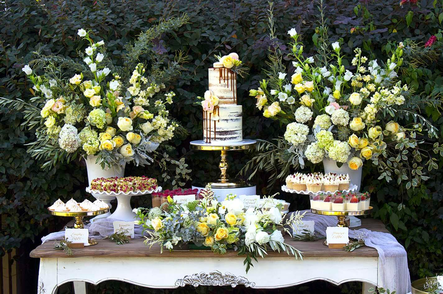 Event Styling - Dessert Bar