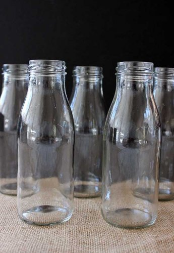Sydney Event prop hire drink stand glass milk bottles