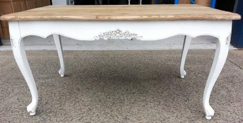 Sydney event prop hire Shabby Chic Timber Table
