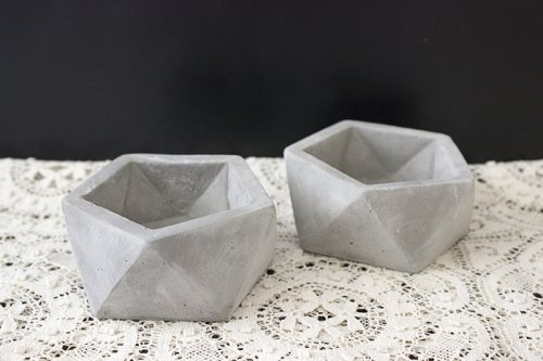 Hire_concrete tealight holders