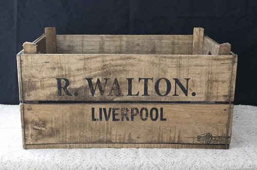 Sydney event hire vintage timber crates