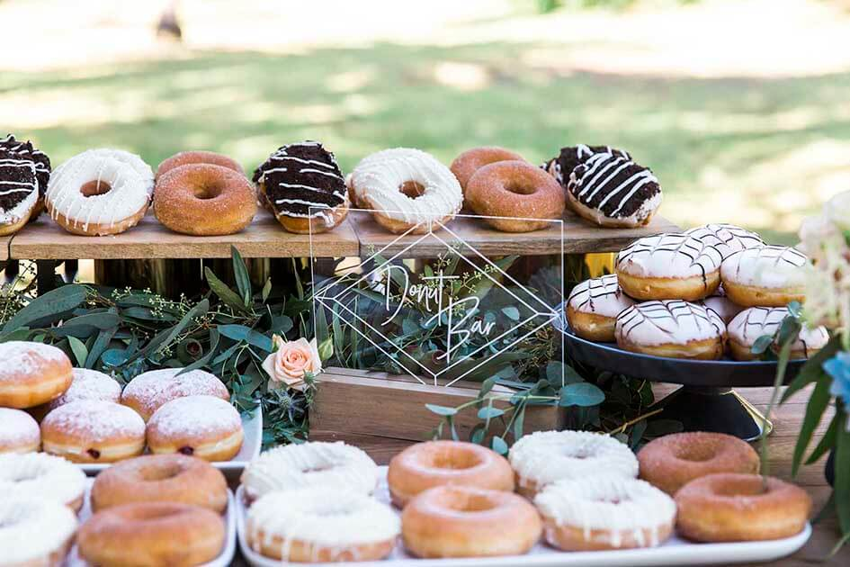 Wedding Styling - Doughnut Bar