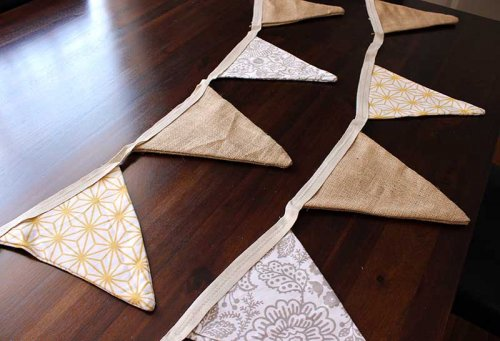Event prop hire bunting