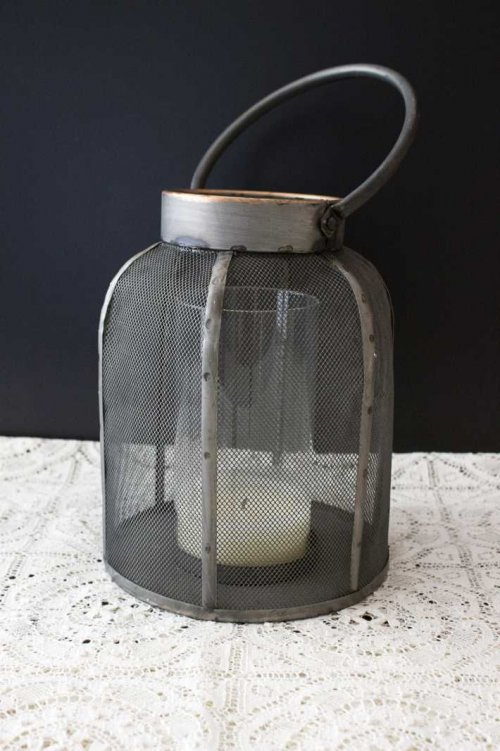 Event prop hire rustic metal lantern_Event_Styling_Sydney
