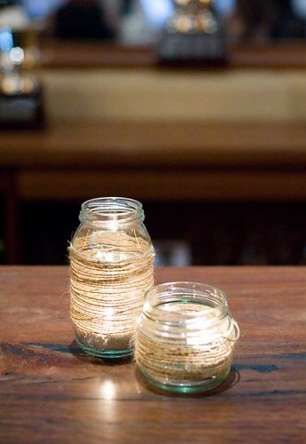 Sydney Event prop hire decorated glass jars